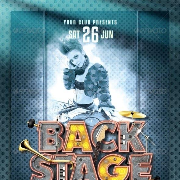 Backstage Flyer