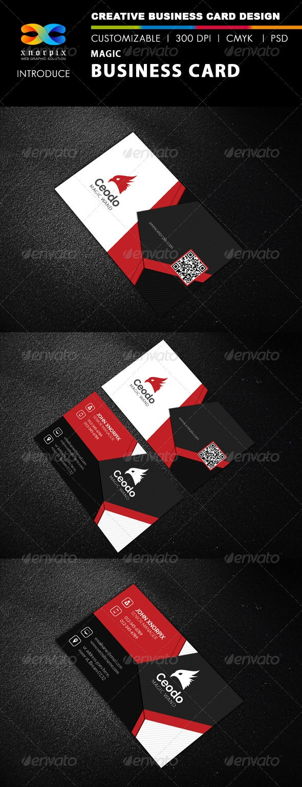 Magic Business Card - Corporate Business Cards