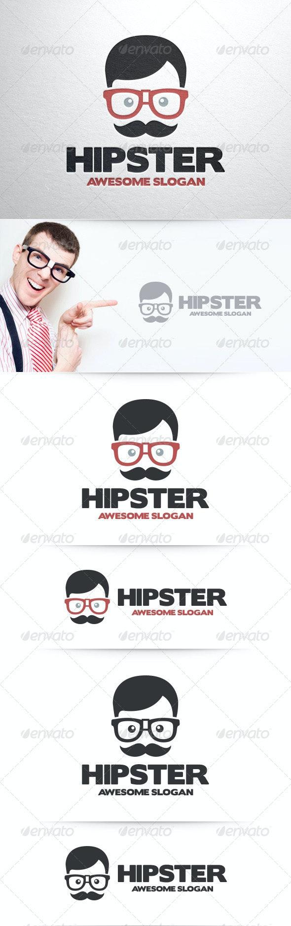 Hipster Logo Template - Humans Logo Templates
