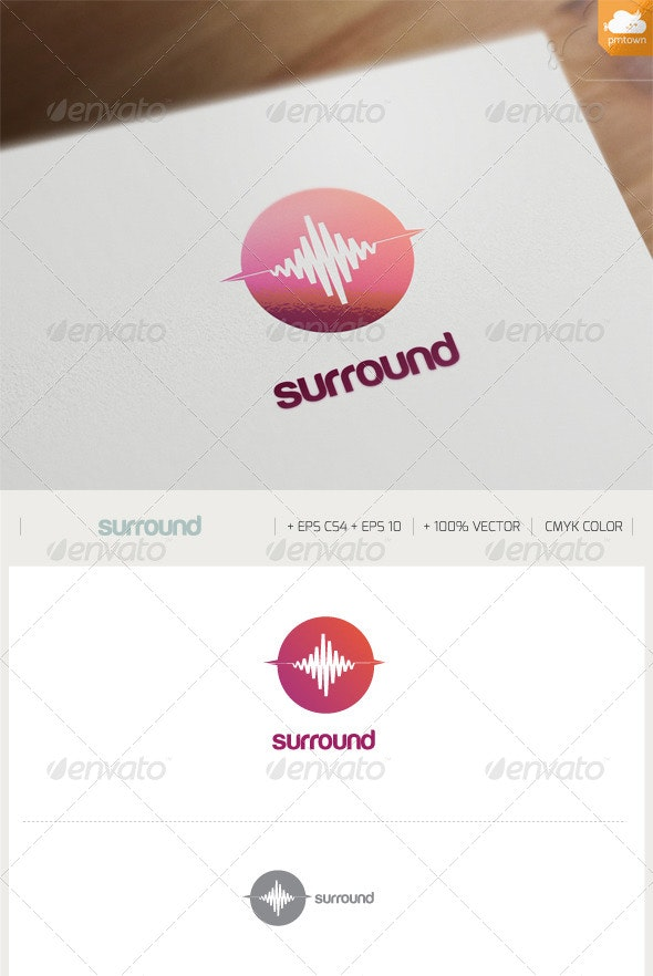 Surround - Objects Logo Templates