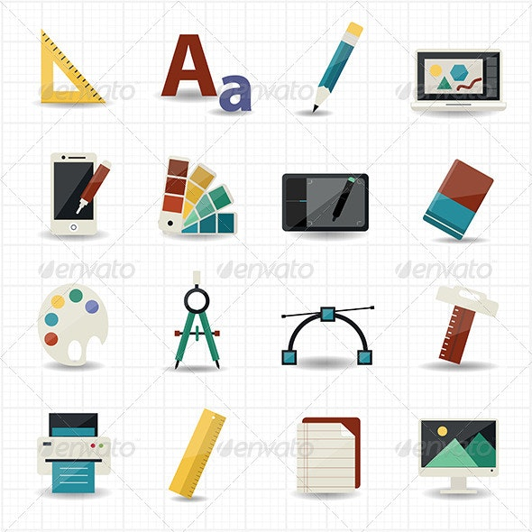 Creativity and Design Icons - Technology Icons