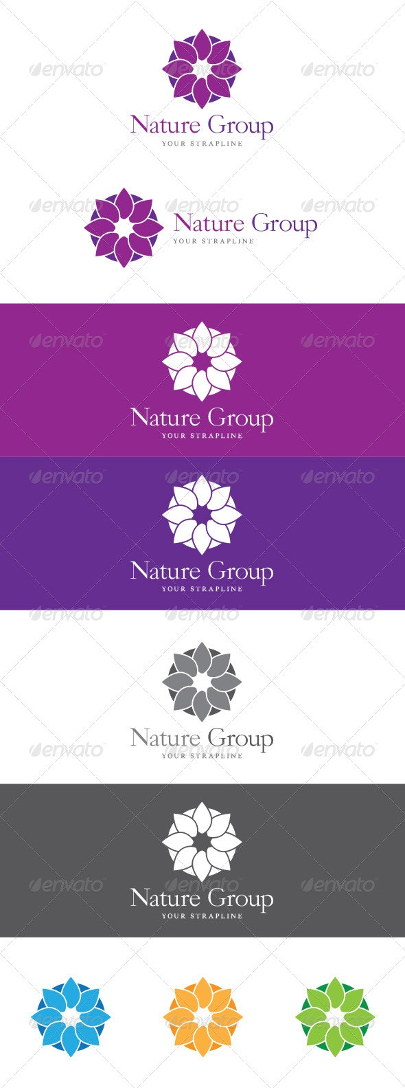 Nature Group Logo - Nature Logo Templates