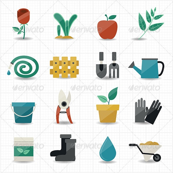 Garden Icons - Miscellaneous Icons