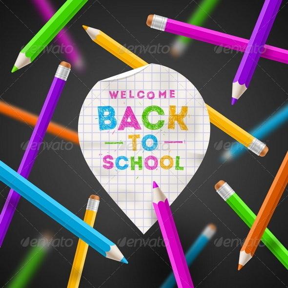 Back to School Illustration - Conceptual Vectors