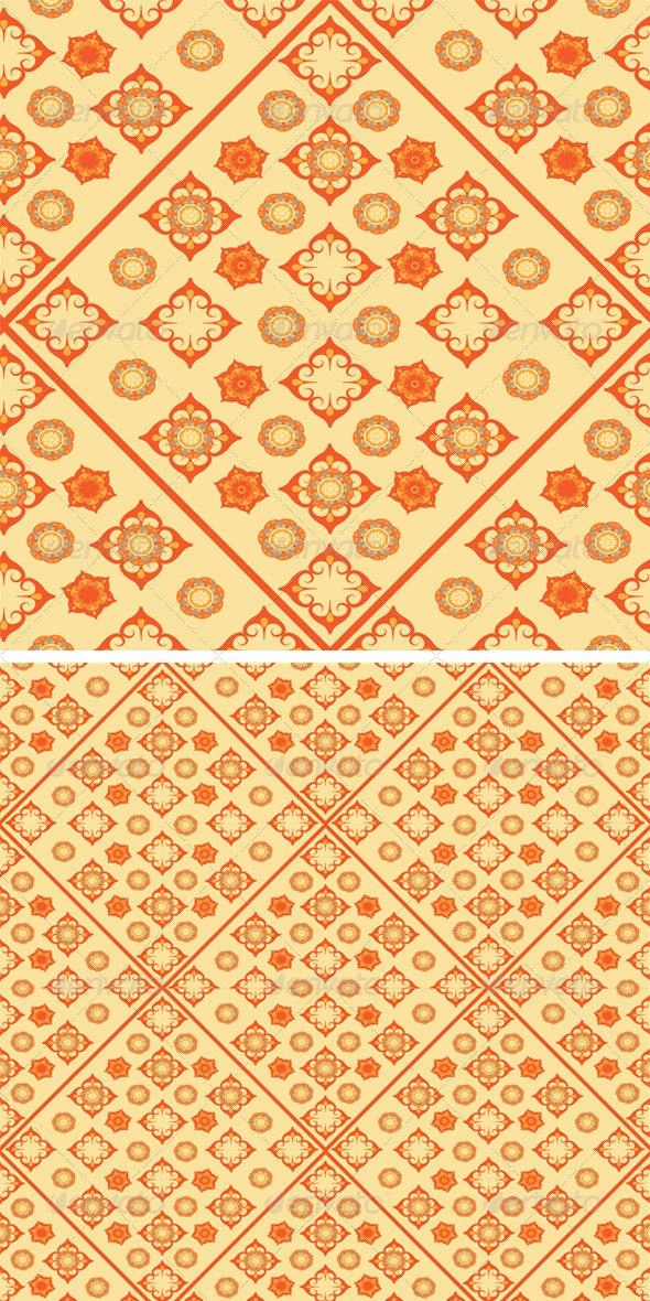 Flowers Seamless Pattern   - Patterns Decorative
