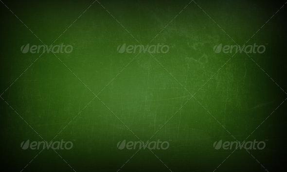 Green Chalkboard - Education Backgrounds