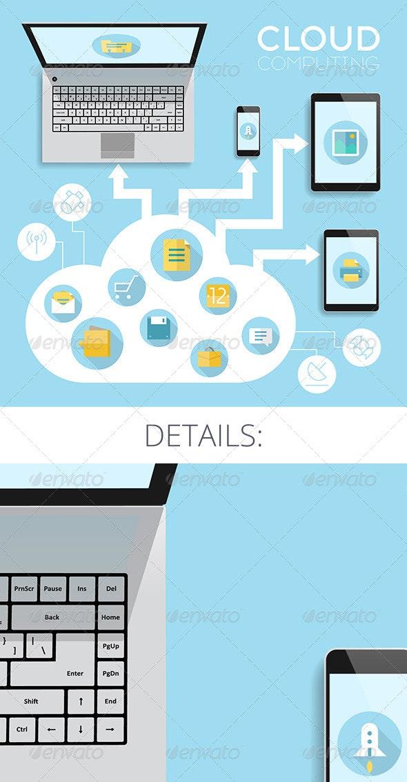 Cloud Computing Concept - Technology Conceptual