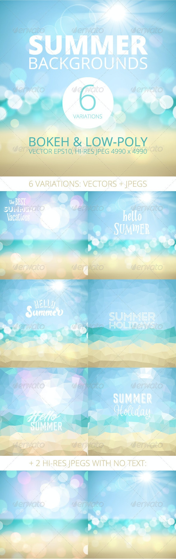 Summer Holiday Tropical Beach Background - Seasons Nature