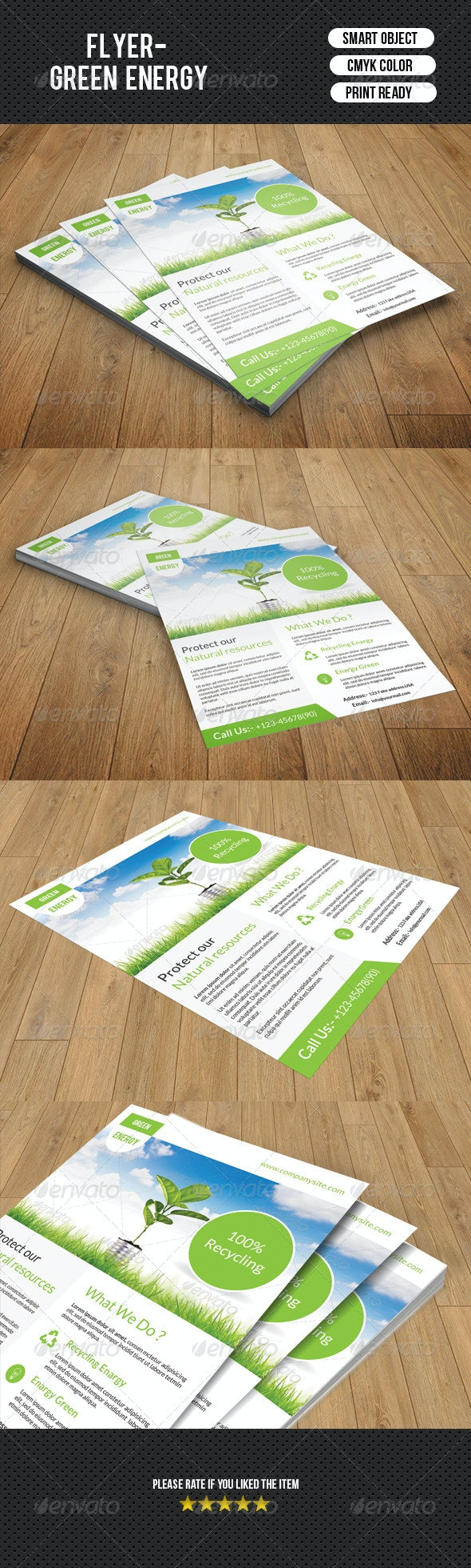 Green Energy Flyer-V94 - Corporate Flyers