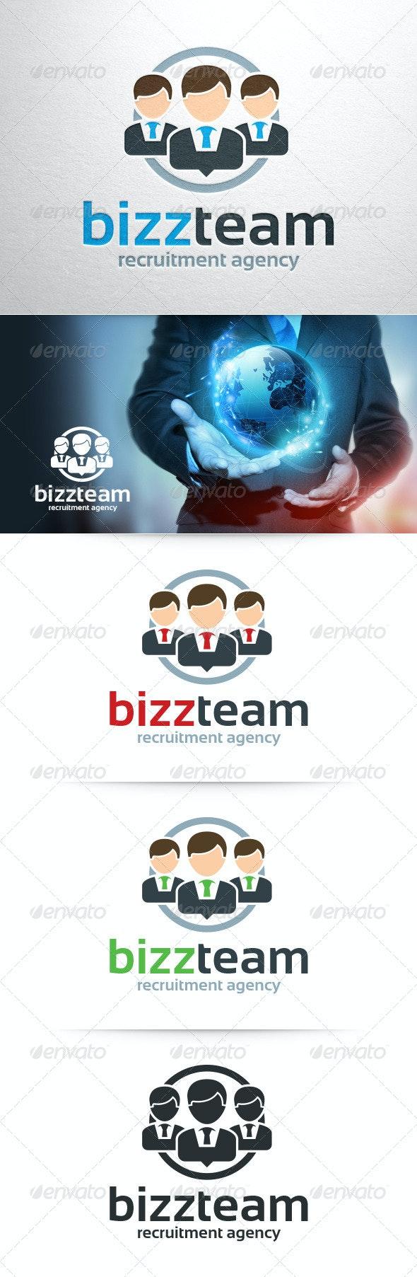 Business Team Logo Template - Humans Logo Templates