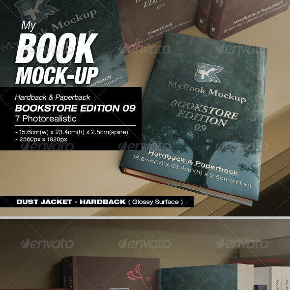 Bookstore Edition 09 Mock-up