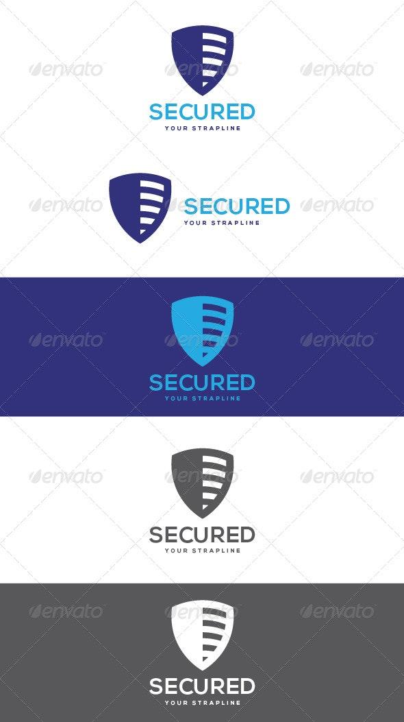 Secured Logo - Symbols Logo Templates