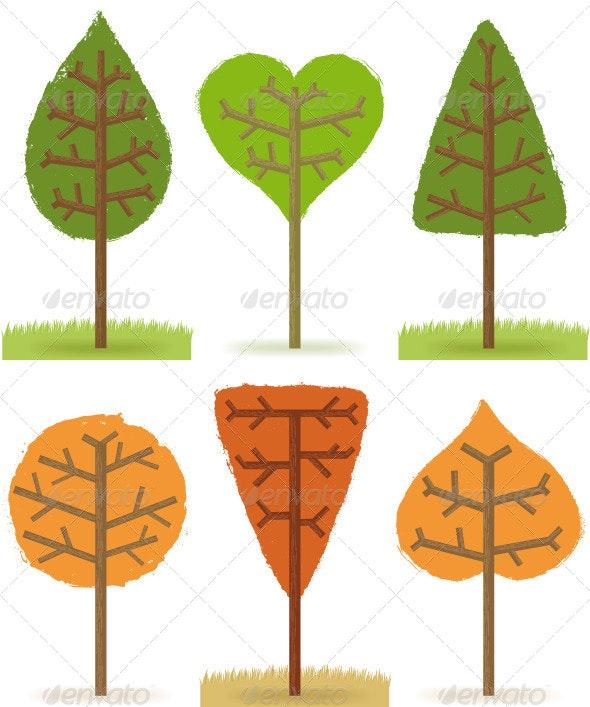 Six Trees - Flowers & Plants Nature