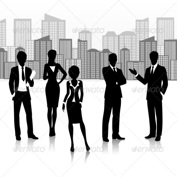 Business Group Silhouette  - Concepts Business