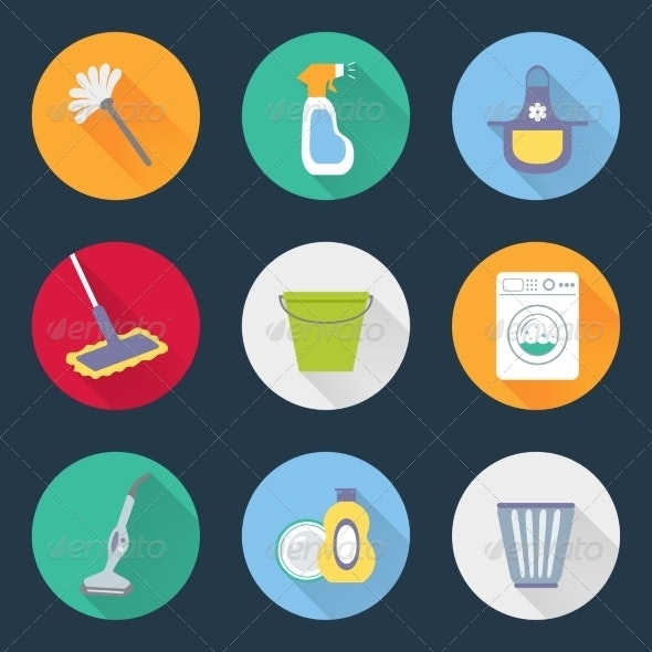 Cleaning Icons - Miscellaneous Icons