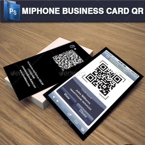 Miphone Business Card QR