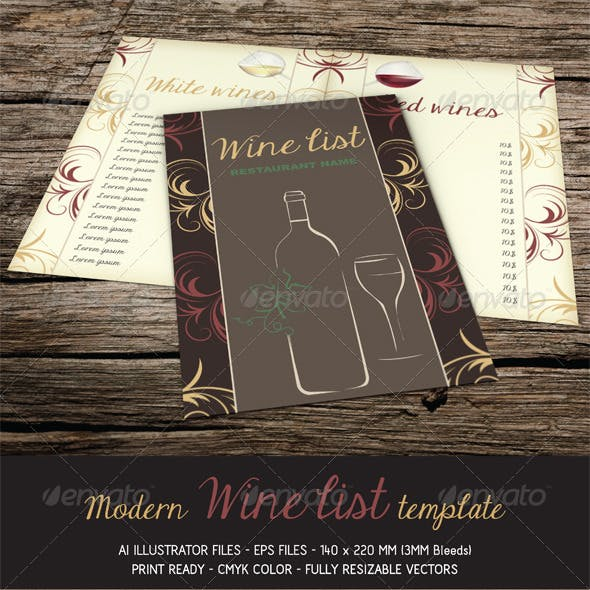 wine dinner menu template.html