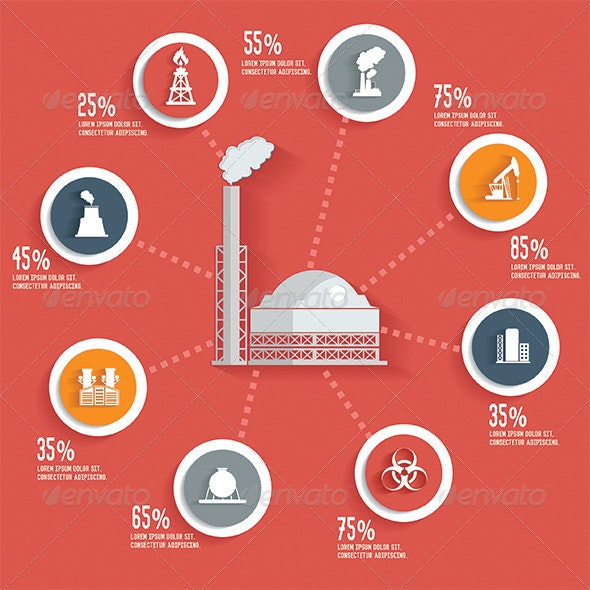 Industrial Infographic Design - Infographics