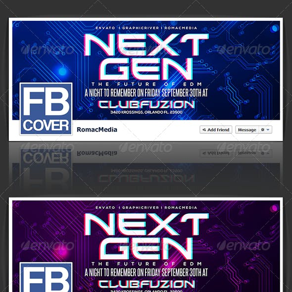 Next Generation Facebook Timeline Cover
