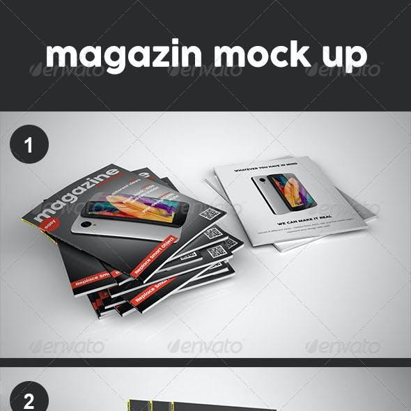 Magazin Mock Up