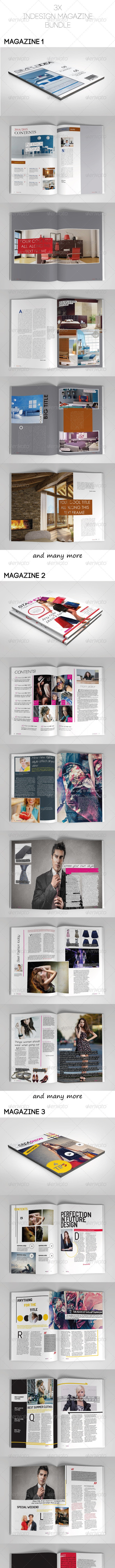Magazine Bundle Vol.02 - Magazines Print Templates