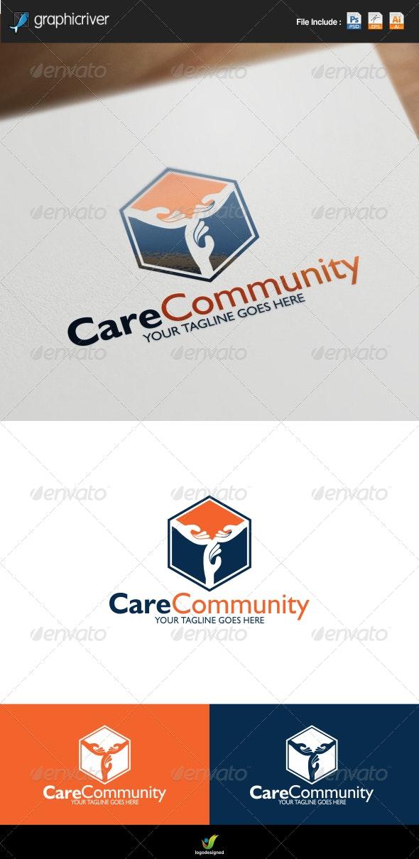 Care Community Center Logo  - Symbols Logo Templates