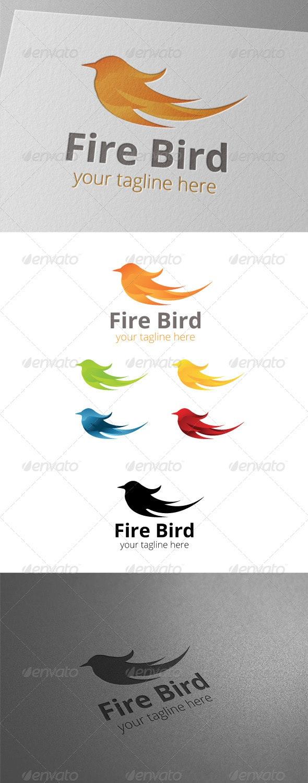 Fire Bird Logo - Animals Logo Templates