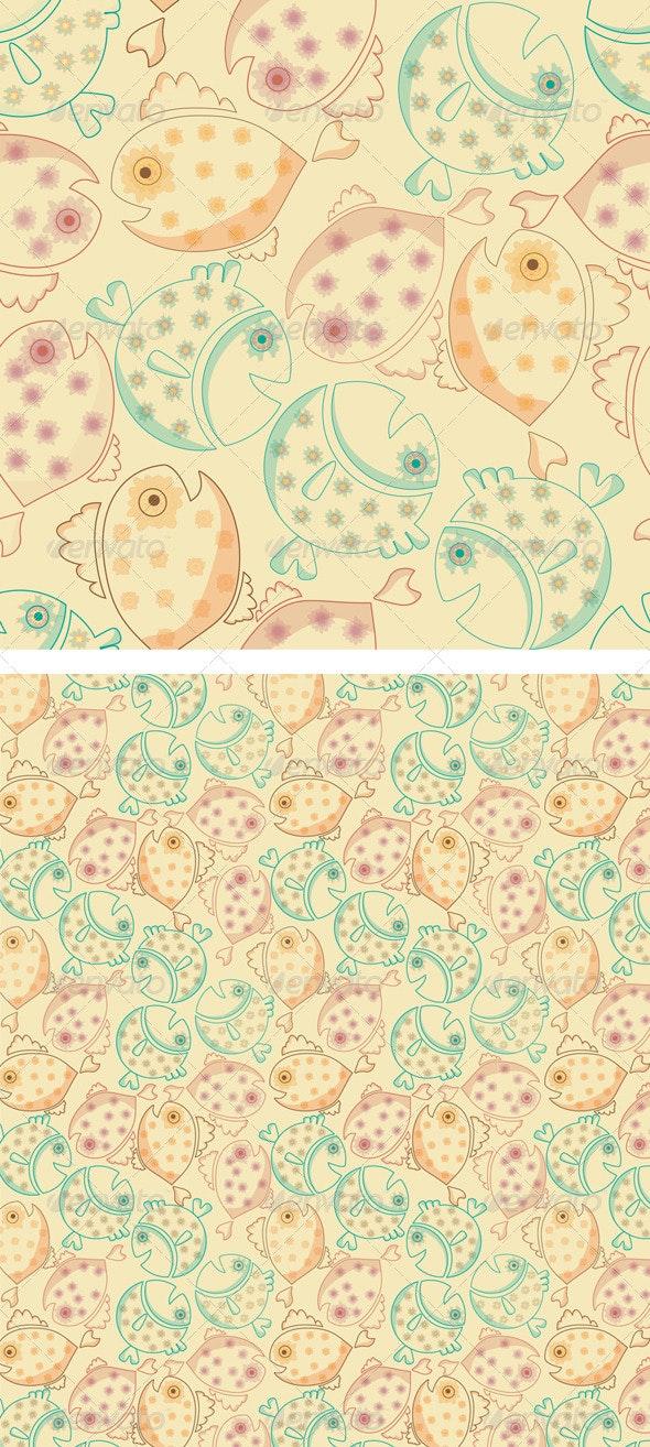 Fish Pattern - Patterns Decorative