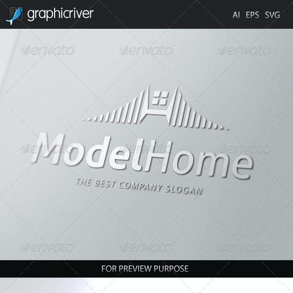Model Home Logo