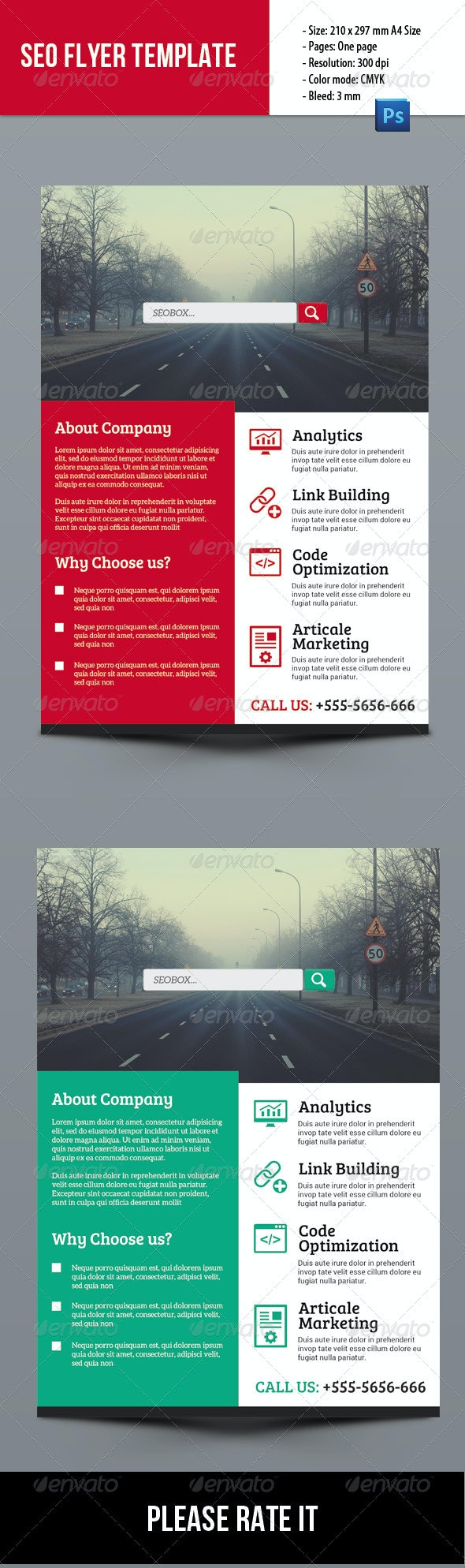 SEO Business Flyer - Corporate Flyers