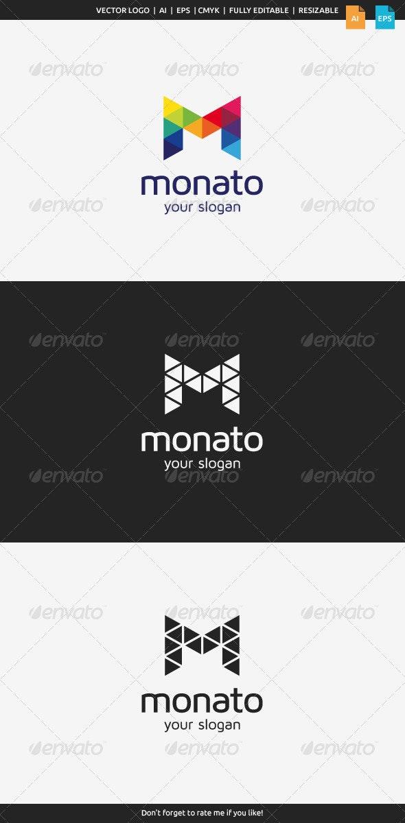 Monato M Logo - Letters Logo Templates