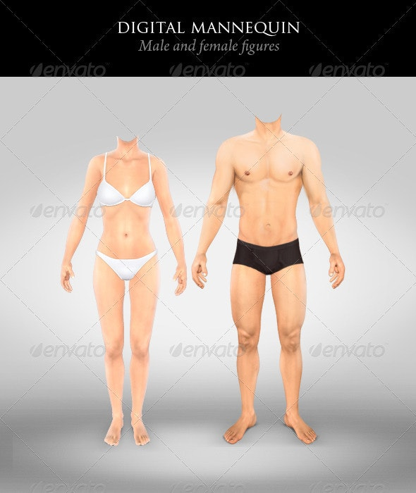 Digital Mannequin - Illustrations Graphics