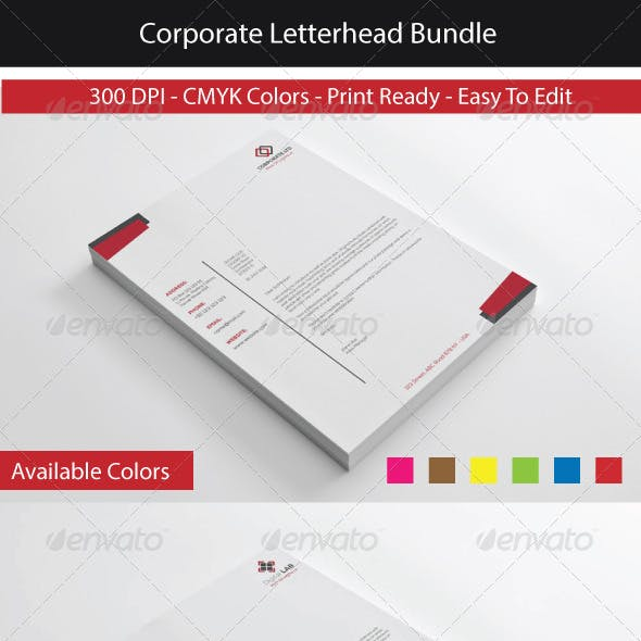 Corporate Letterhead Bundle