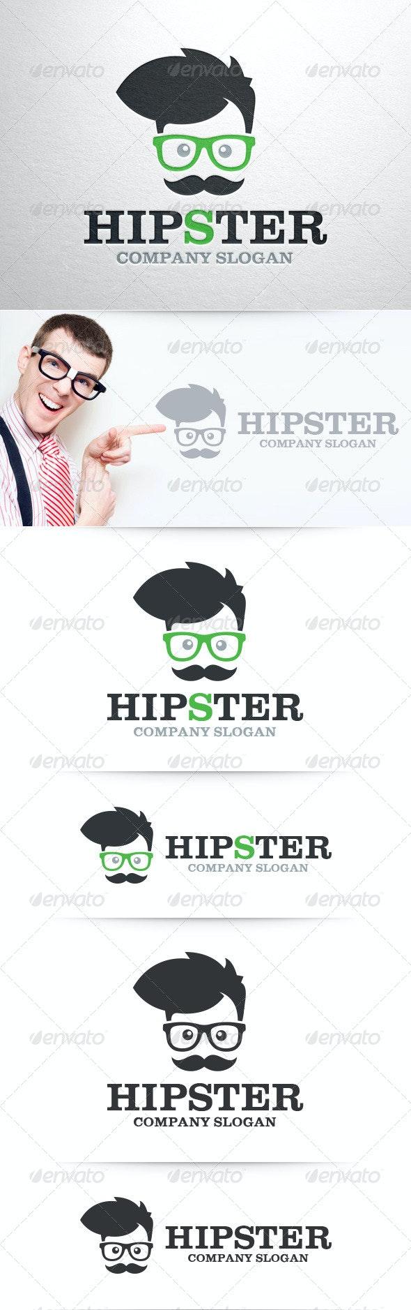 Hipster Logo Template v2 - Humans Logo Templates