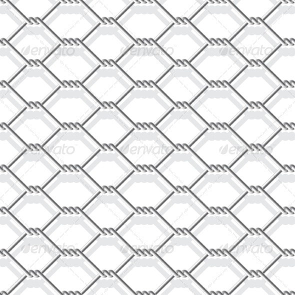 Chain Link Fence - Patterns Decorative