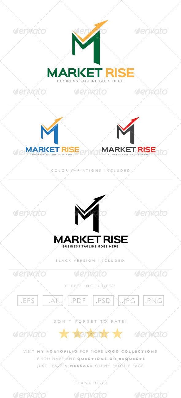 Market Rise Logo - Letters Logo Templates