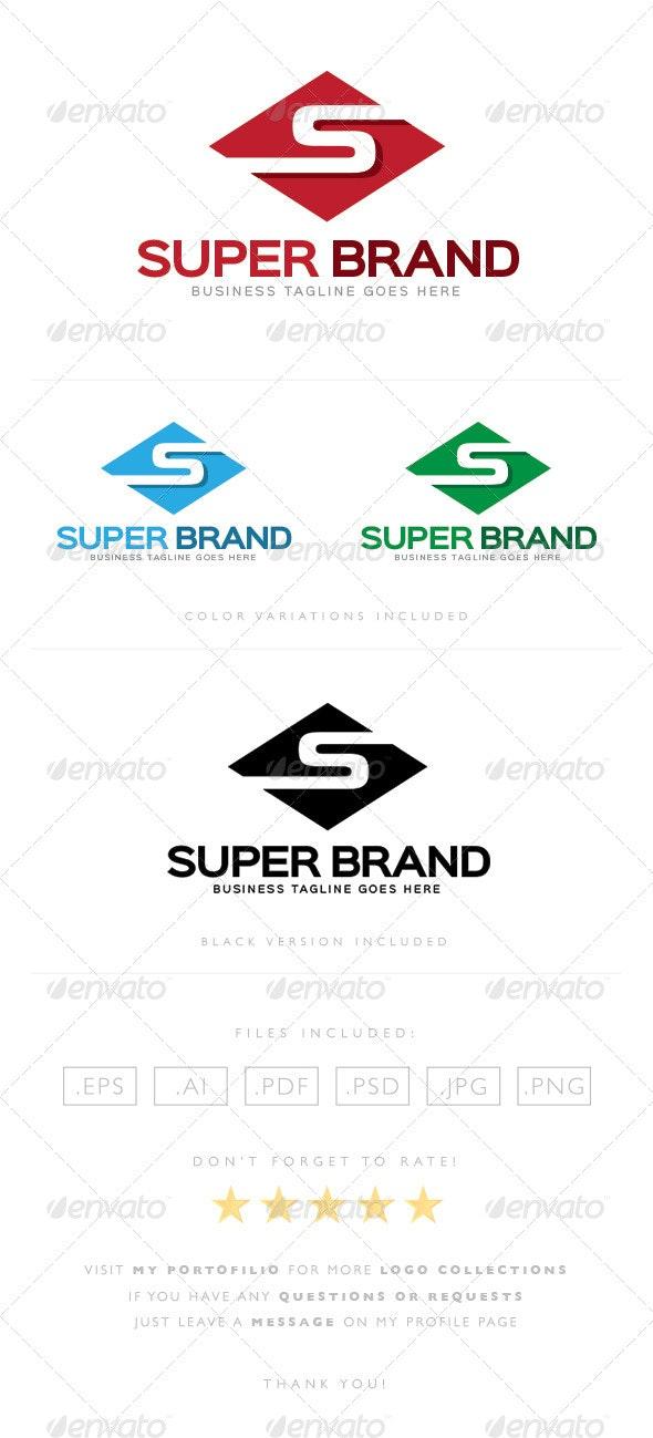 Super Brand Logo - Letters Logo Templates