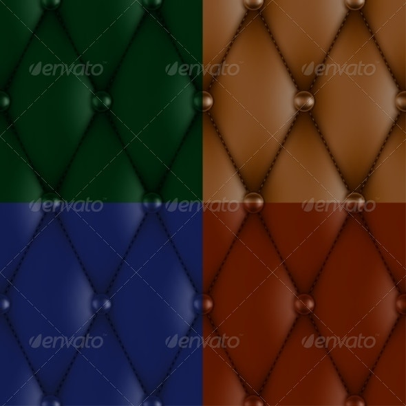 Luxury Leather Upholstery - Patterns Decorative