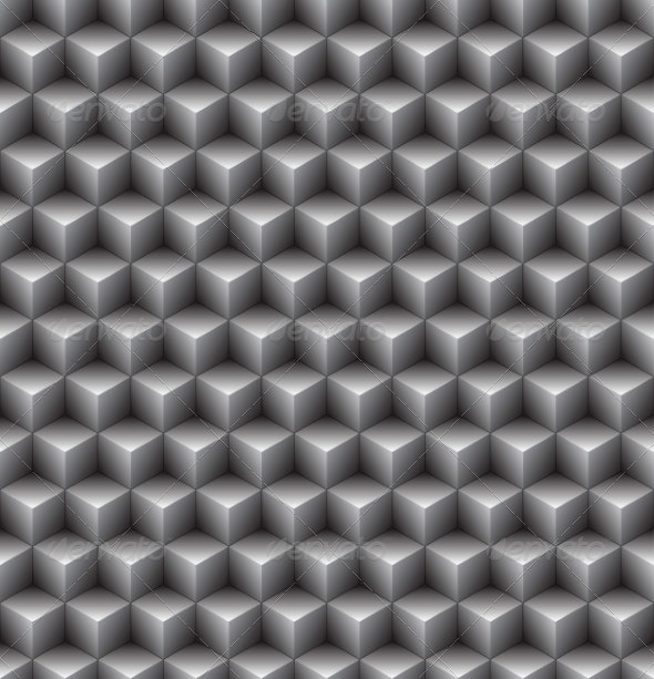 Abstract Cube Pattern - Patterns Decorative