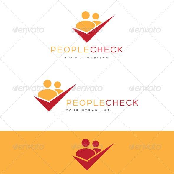 People Check Logo