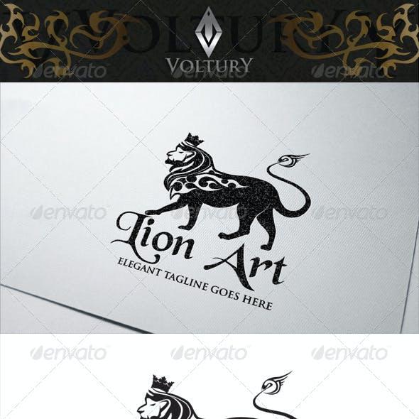 Lion Art Logo