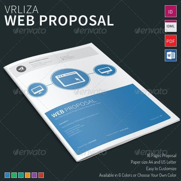 Vrliza - Web Proposal Template