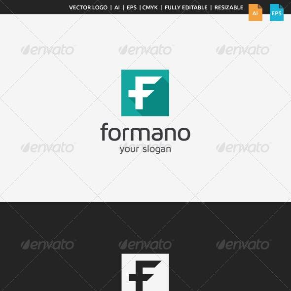 Formano F Logo