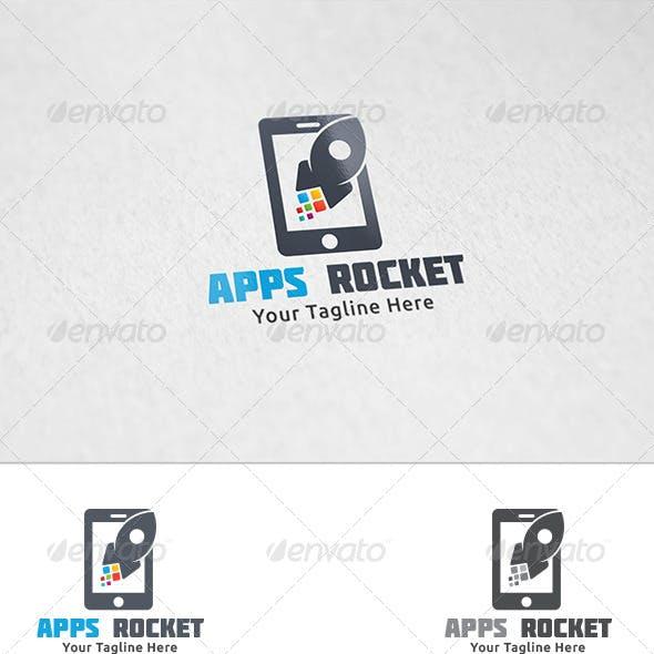 Apps Rocket - Logo Template