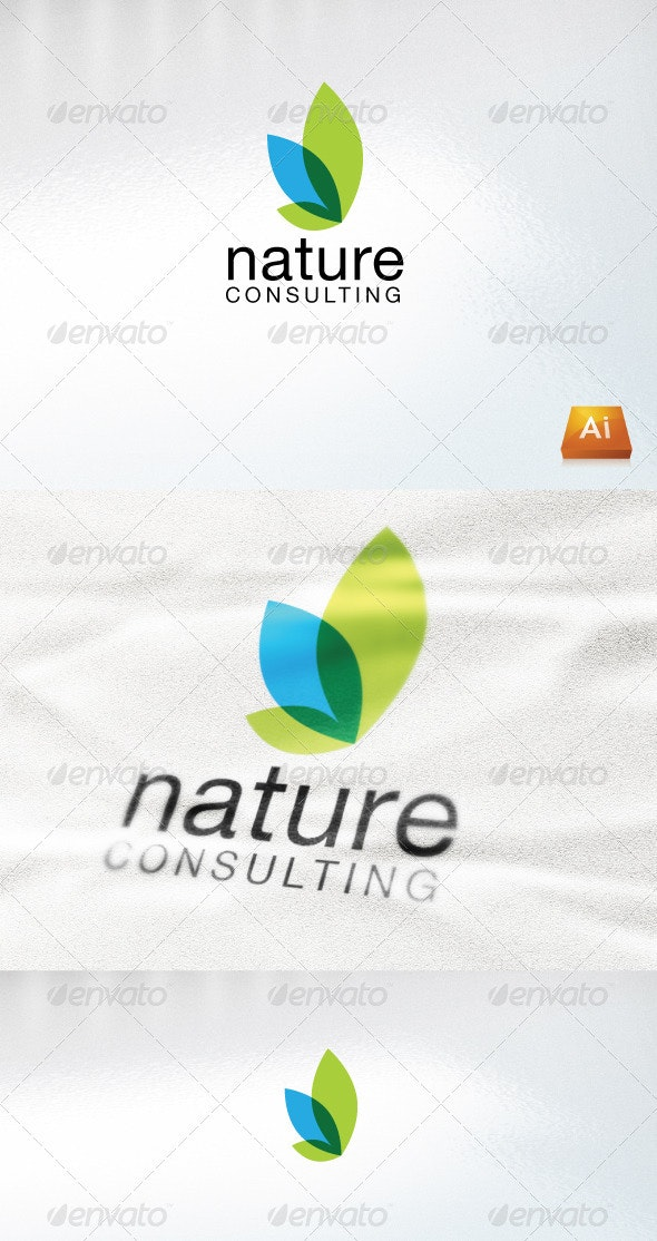 Nature Consulting - Nature Logo Templates