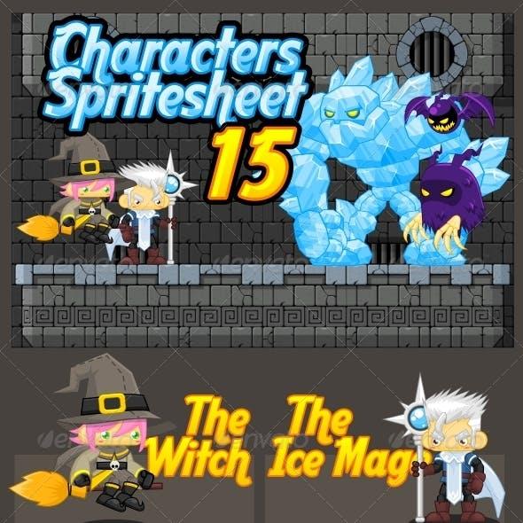Characters Spritesheet 15