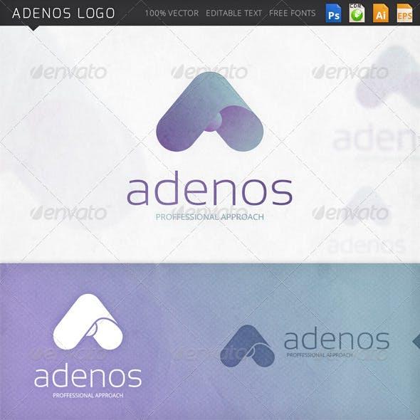 Adenos Letter A Logo Template