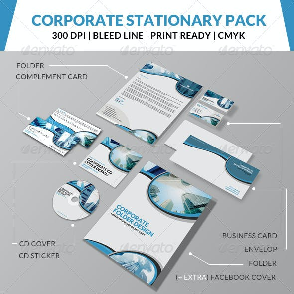 Corporate Stationary Pack 4