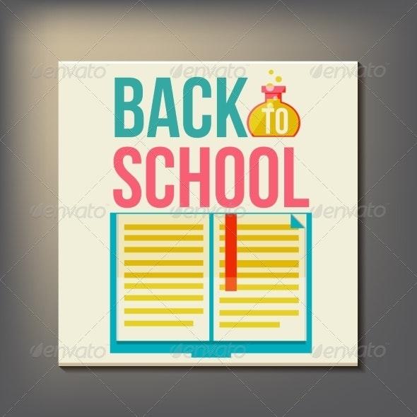 Back to School Design Template - Miscellaneous Vectors