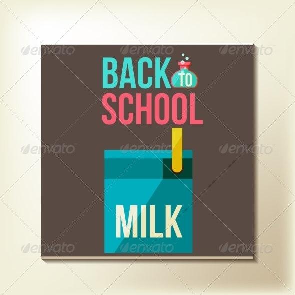 Back to School Design Template - Miscellaneous Conceptual